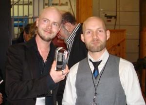 Lars Kramhøft og Tom Kristensen