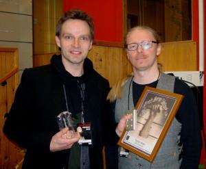 Vinder Teddy Vork sammen med Henrik S. Harksen
